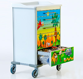 Childrens ward carts
