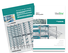 Healthcare shelving systems from Medstor PDF brochure