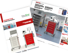 Healthcare carts NHS module carts brochure