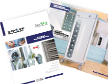 RFID cabinets and shelving systems from Medstor PDF brochure